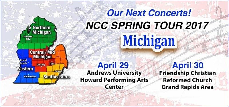 Next Concerts - Michigan Tour